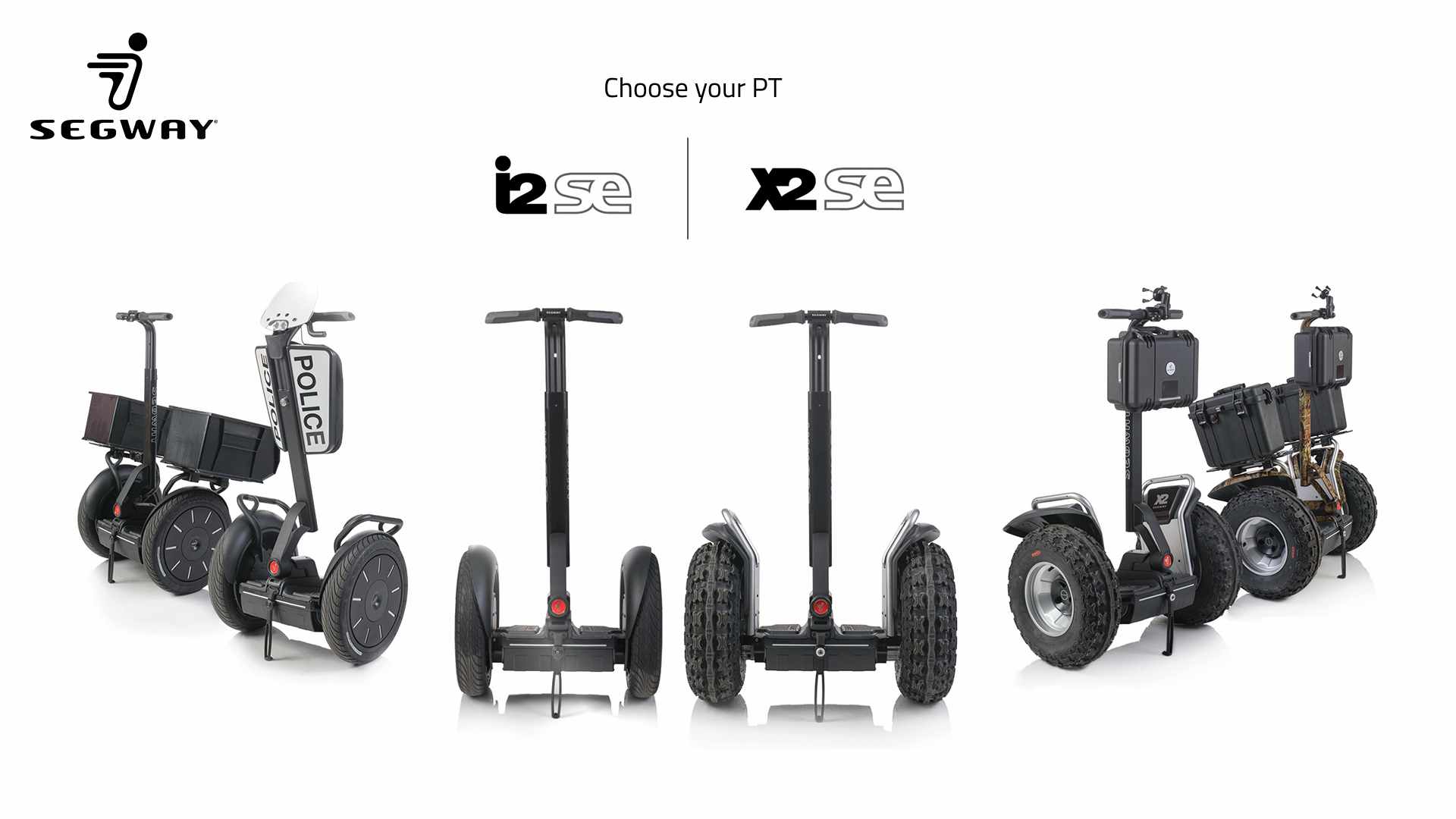 Segway multitouch app