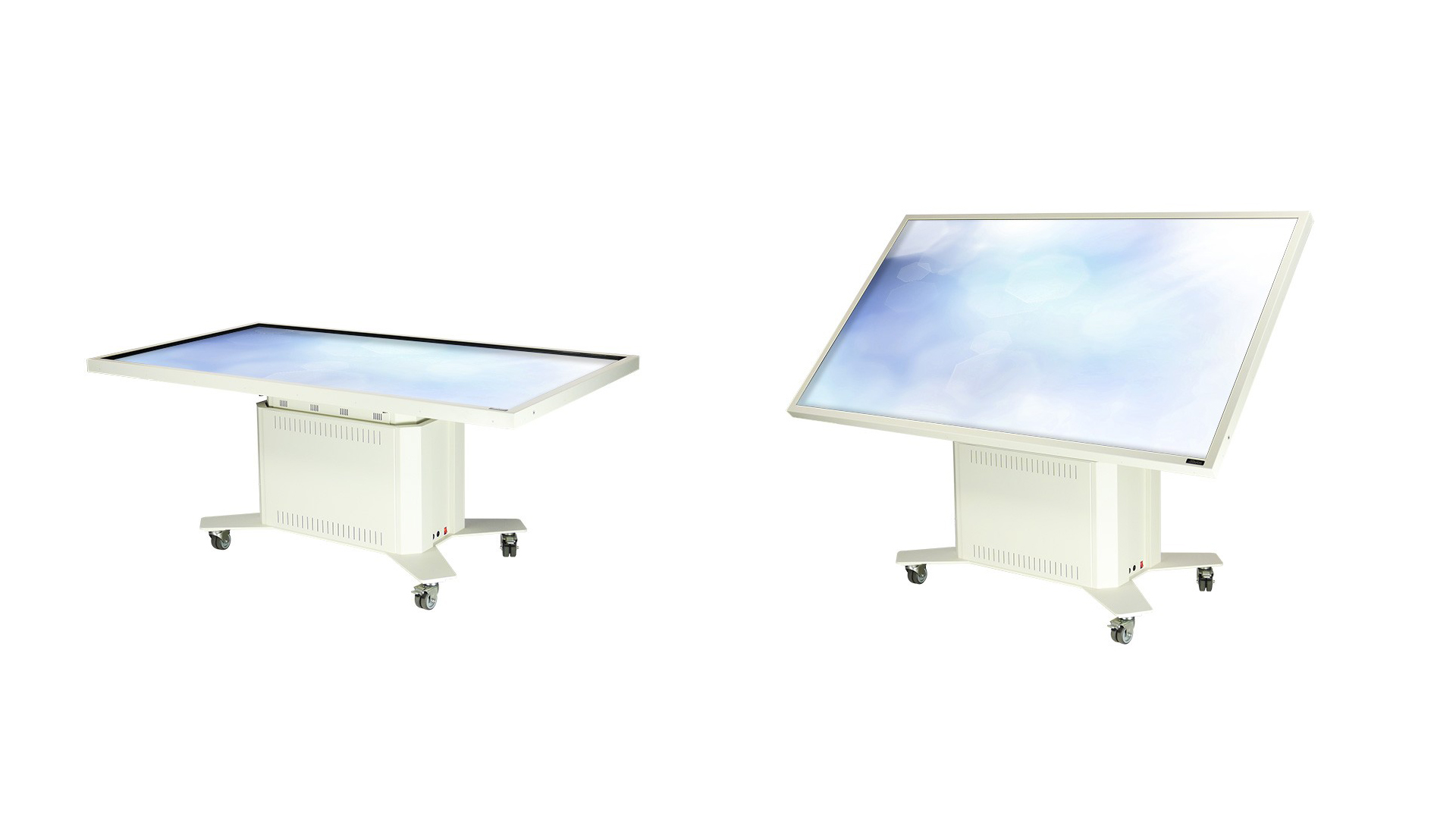 84 inch multitouch table with lift