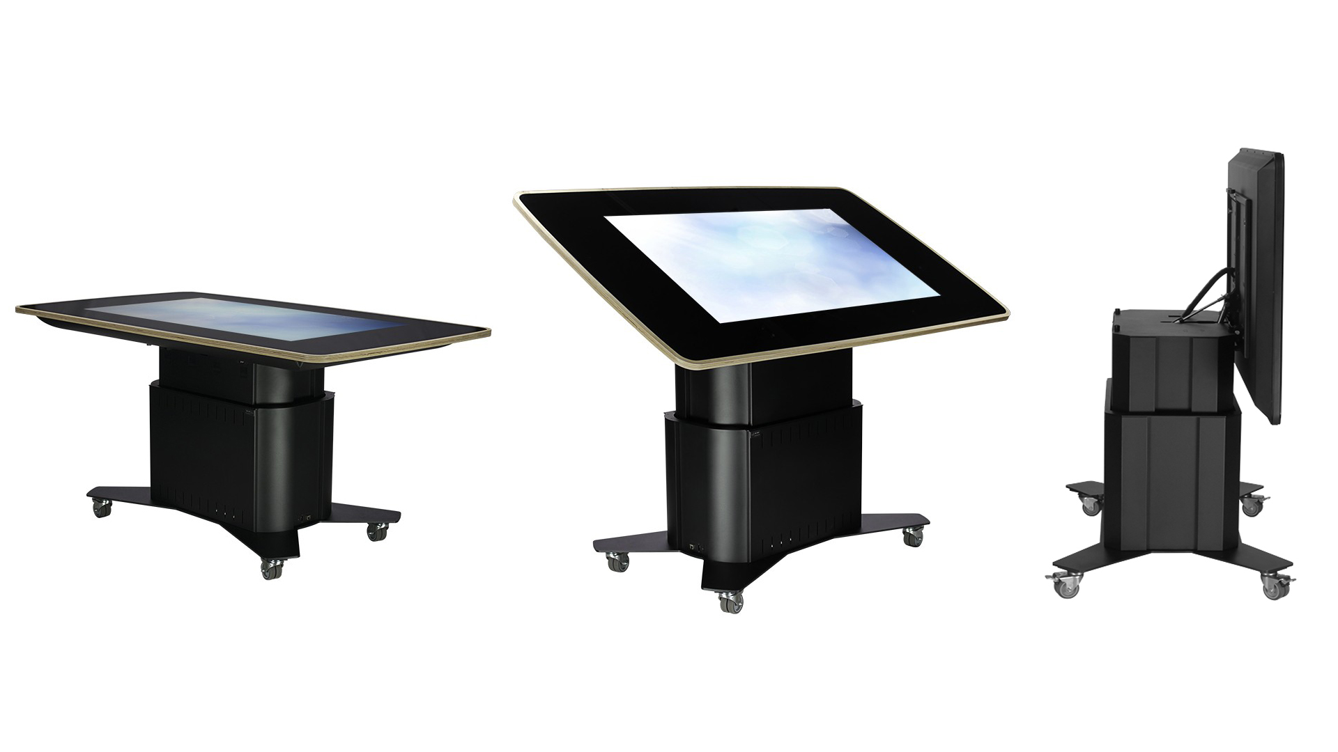 55 inch bespoke build PCAP multitouch table/kiosk.